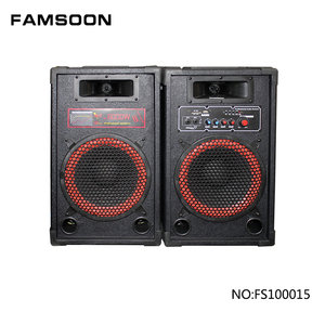 10-inch active USB stage speaker with sd card slot, stage sound system