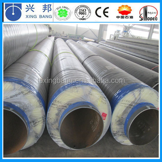 high temp fiberglass boiler pipe insulation tube