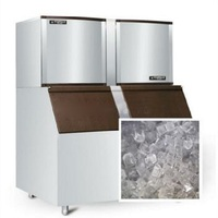 700KG capacity ice machine,get ice easily