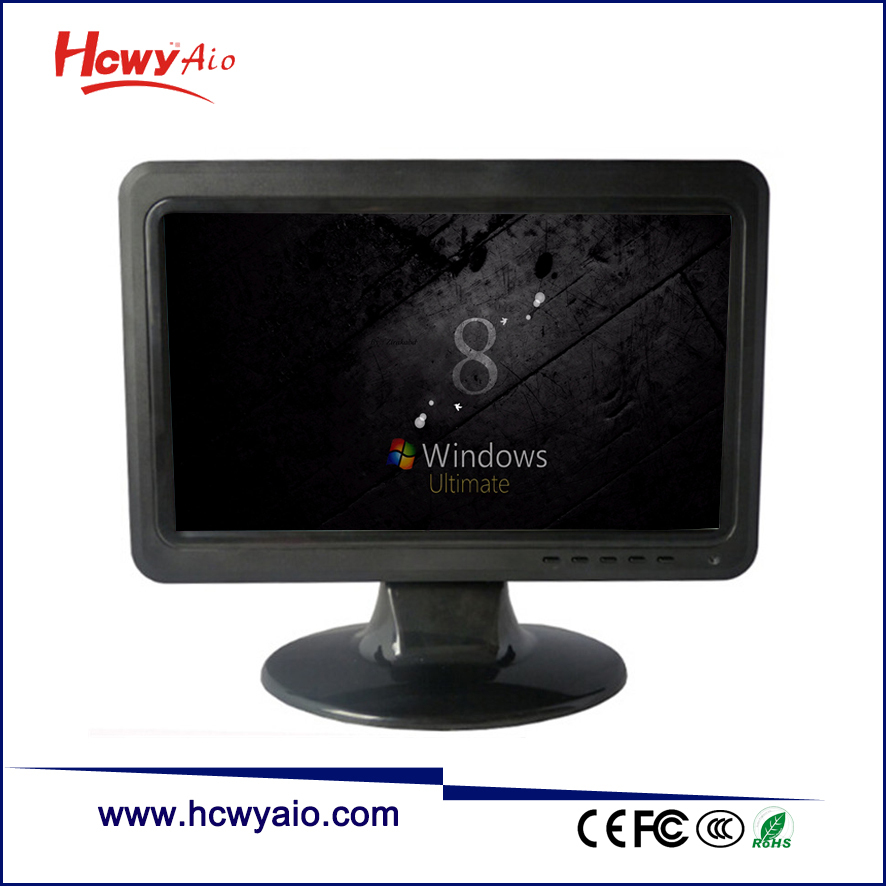 10 inch VGA And RCA Input LCD Monitor 10.1inch LED Monitor TV