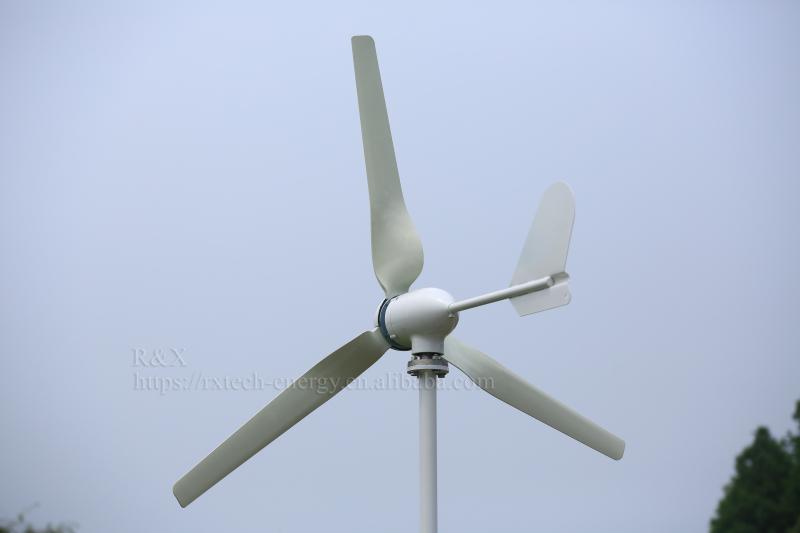 Wind Power Alternative Energy Generators 600W 48V For Roof