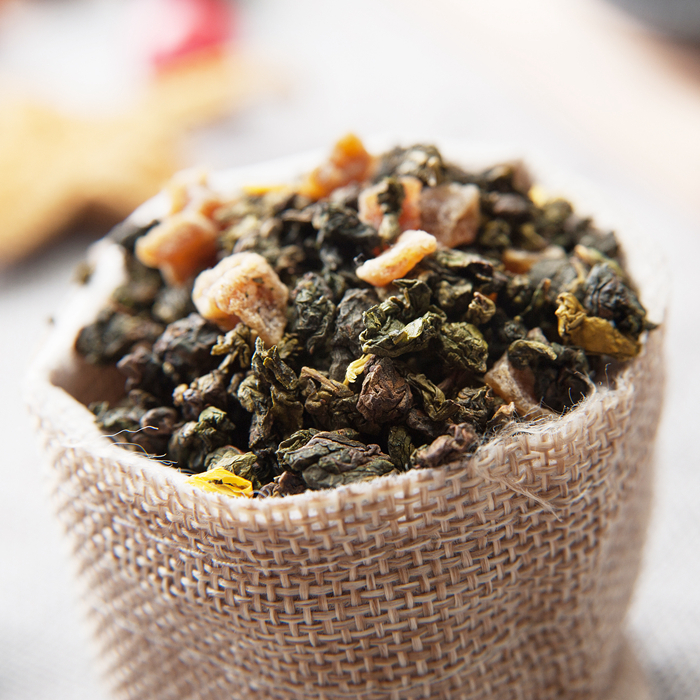 Peach Slimming Oolong Tea weight loss tea loose leaf tea