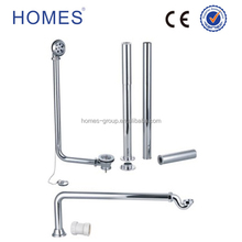 Copper Free Stand Bath Waste Fitting Ball Chian With Extended Legs Kit