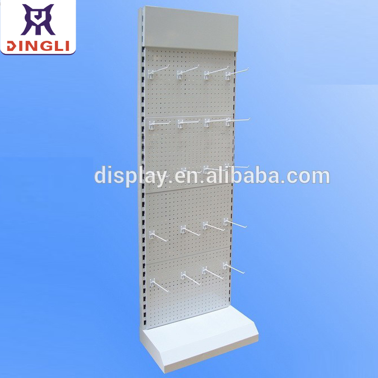 Custom Logo Retail Metal Floor Blister Pack Display Stand, retail hanging display stand