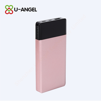 2018 shenzhen new products type-c external battery power bank 10000mAh