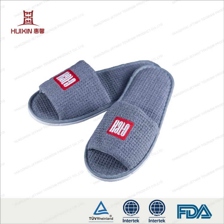JET-SL-064 China factory personalized hotel slippers with custom logo