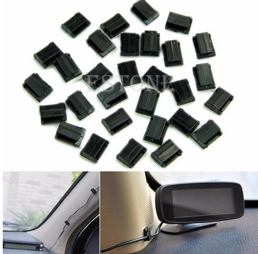 New tool for Car Wire Cord Clip Cable Holder Tie Clips Fixer Organizer Drop Adhesive Clamp