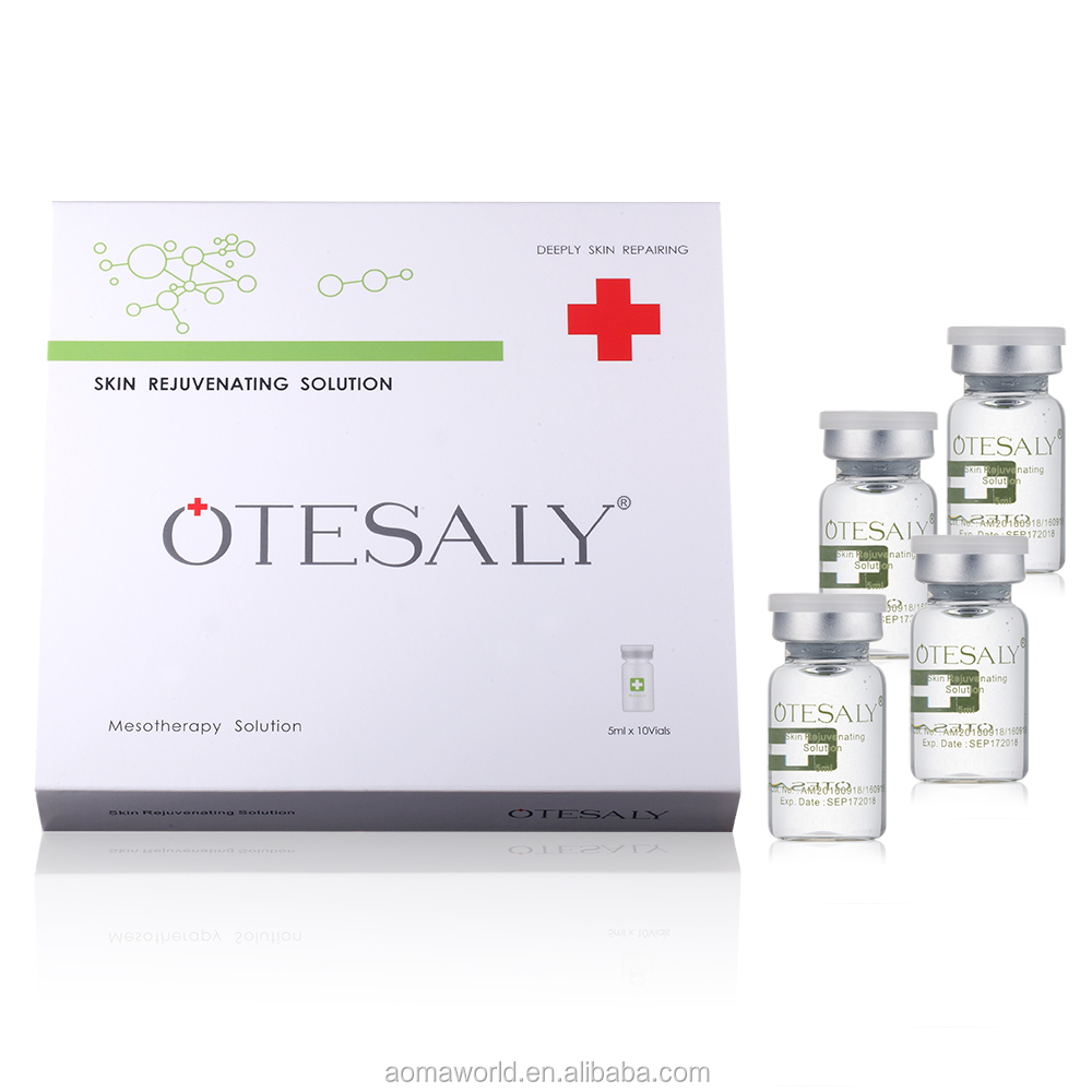 Anti Aging No Needle Mesotherapy Vials Skin Rejuvenation Otesaly Mesotherapy Solution