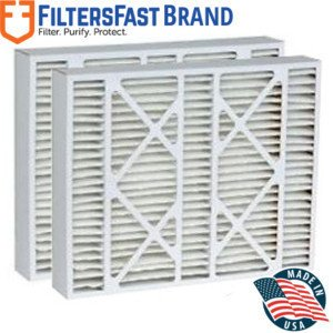 """FiltersFast Compatible Replacement for Amana M8-1056 MERV 11 Air Filter 2-Pack-20x25x5 (actual size: 20-1/4""""x25-3/8""""x5-1/4"""")"""