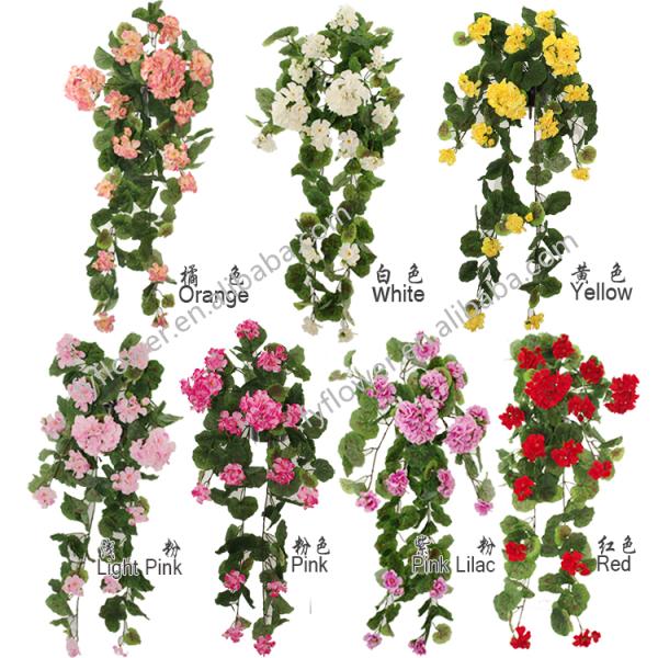 Hiedra artificial vides begonia flor hiedra para jard n - Enredaderas de interior ...