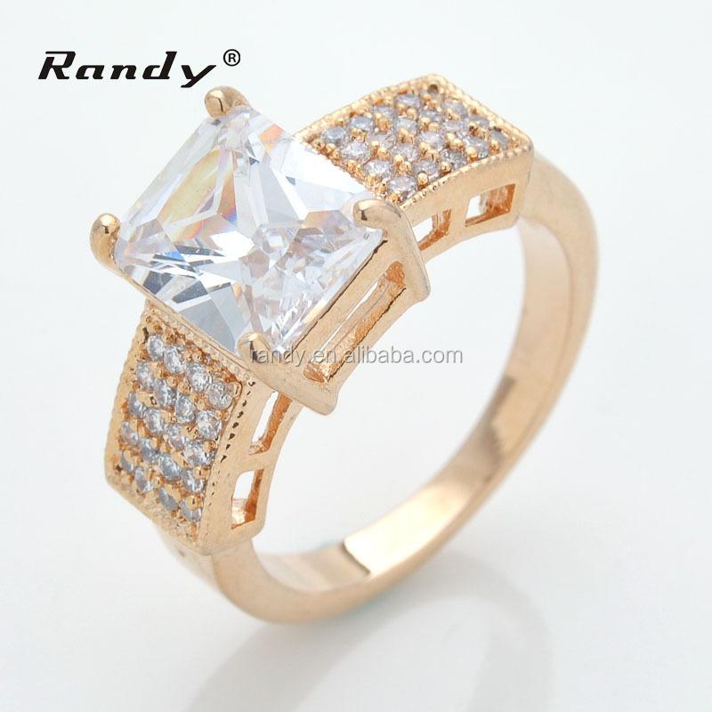 Saudi Arabia 18k Gold Wedding Ring Price For Las Finger