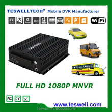 4ch/8ch 4G LTE 3g gps dvr mnvr 1080P HD mobile nvr support wifi hot spot