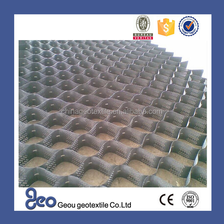 High-quality Plastic Gravel Stabilizer/Soil Stabilizer Geou 150-330 honeycomb geotextile
