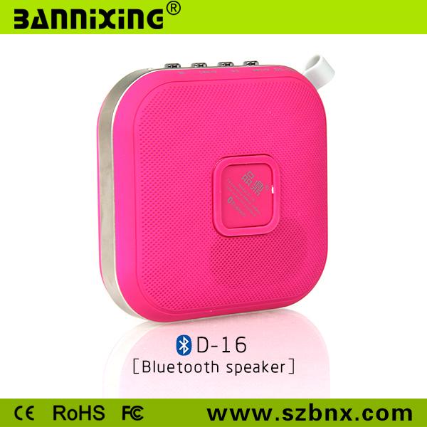 Factory product D-16 mini mobile phone amplifier speaker