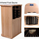 Infrared Foot Sauna Boxes Foot & Leg Barrel Sauna