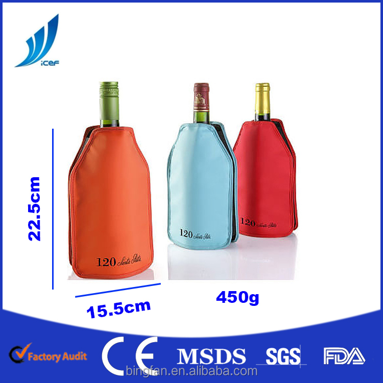 OEM/ODM ONLINE SELLING ice pack bottle cooler gel pack FACTORY