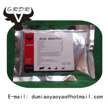 GMP Veterinary Drug Companies Herbal Anti-diarrhea Powder Fever Chinese Medicine For Animals