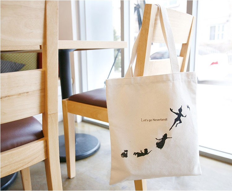 8oz 10oz 12oz promotional logo customized printing gots organic cotton bag