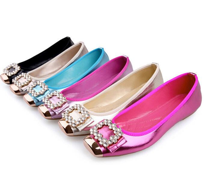 83377fa18 Get Quotations · Fashion sneakers Women Casual Flats Shoes Rhinestone  zapatos mujer feminino Women ballet flats Sneakers Spring Autumn