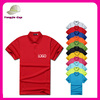 Custom quick dry polo shirts wholesale promotional polo shirt cheap uniform multicolored polo shirts