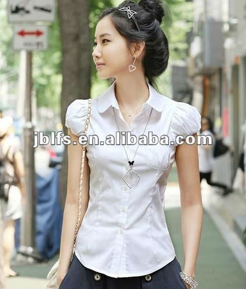 Oem Most Por Las Office Wear Shirts White Uniform Product On Alibaba