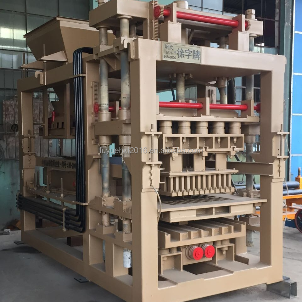 Hydraulic And Vibration Method Paver Block Brick Making Machine For Sale