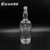 wholesale white whisky glass bottles 750ml with cork stopper