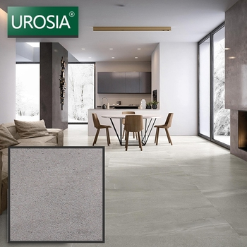 Dark grey porcelain floor tiles 800x800 mm made in turkey Rough Antique Grey Rustic Glazed Floor Tiles