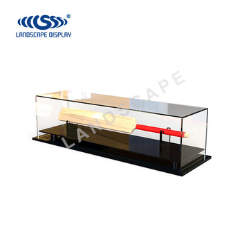 Acrylic Countertop Display Stand For Cricket Bat / Plexiglass Display Case  For Cricket Bat / Display Rack For Cricket Bat - Buy Display Stand For