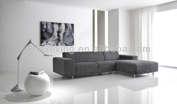 Kleine woonkamer hoekbank - Sofa smeedijzeren ...