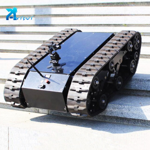 New advanced robot chassis tracked tank raspberry pi