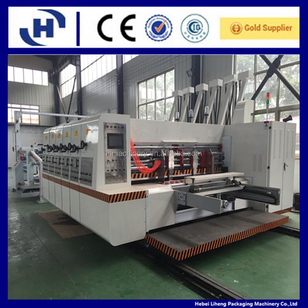Automatic Chain Feeder Corrugated Carton Flexo Printing Slotting ...