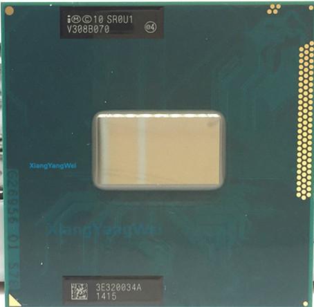 New Intel Pentium Dual-Core cpu processor 2020M 2.4GHz 2M Socket G2//rPGA988B