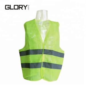 Glory custom roadway 3m reflective breathable safety vest safety apparel