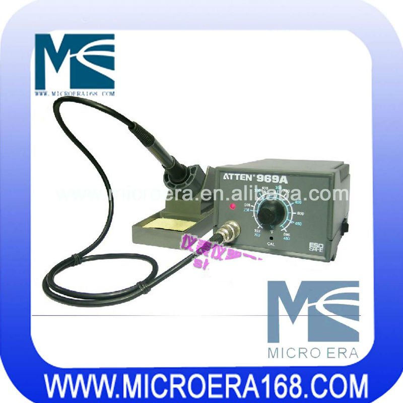 Soldering Iron Atten AT969A with Advanced Hot Air Station
