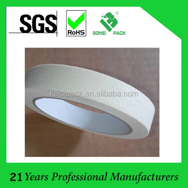 fast stick white masking tape used for car painting