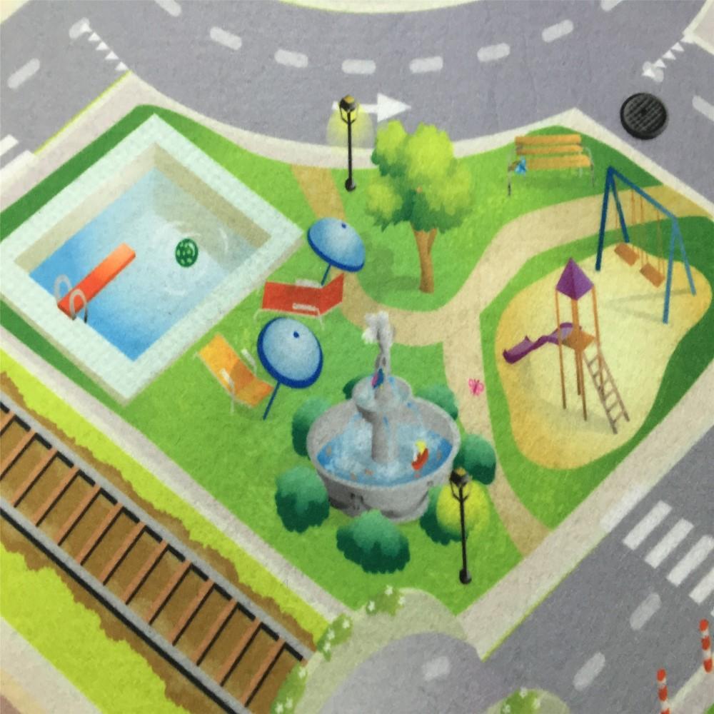Kids cartoon tapijten speelgoed tapijten PVC Tapijt en Tapijten ...