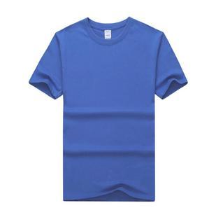 Qetesh China Supplier Oem Cheap Basic Customized Round Neck T-shirt