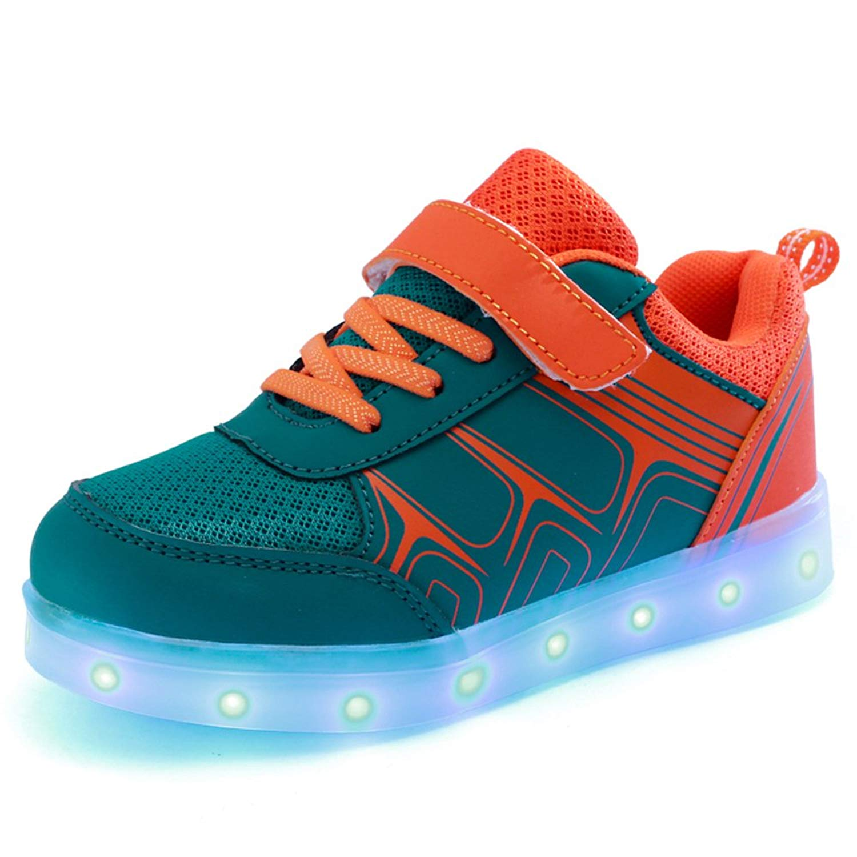 Toddler//Little Kid//Big Kid chen yasheng Performances-Kids LED Light Up Shoes Luminous Flashing Sneakers for Boys Girls