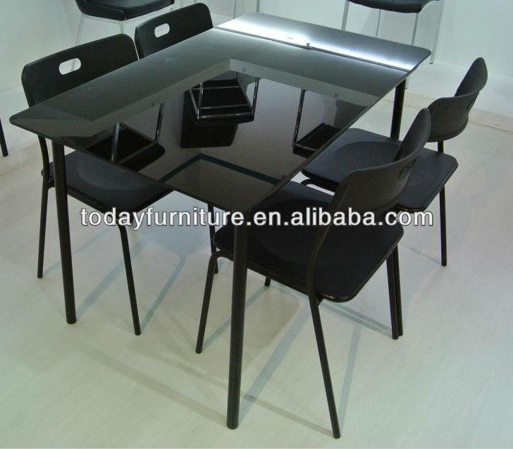 Pas cher table à manger moderne chaise salle à manger