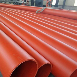 SDR7.4 HDPE Pipe PN25 OD 110mm HDPE Conduit Pipe Plastic Prices