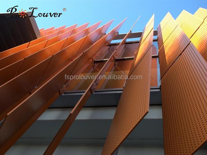 Aluminum Perforated Facades Panel Aluminum Perforated Sun