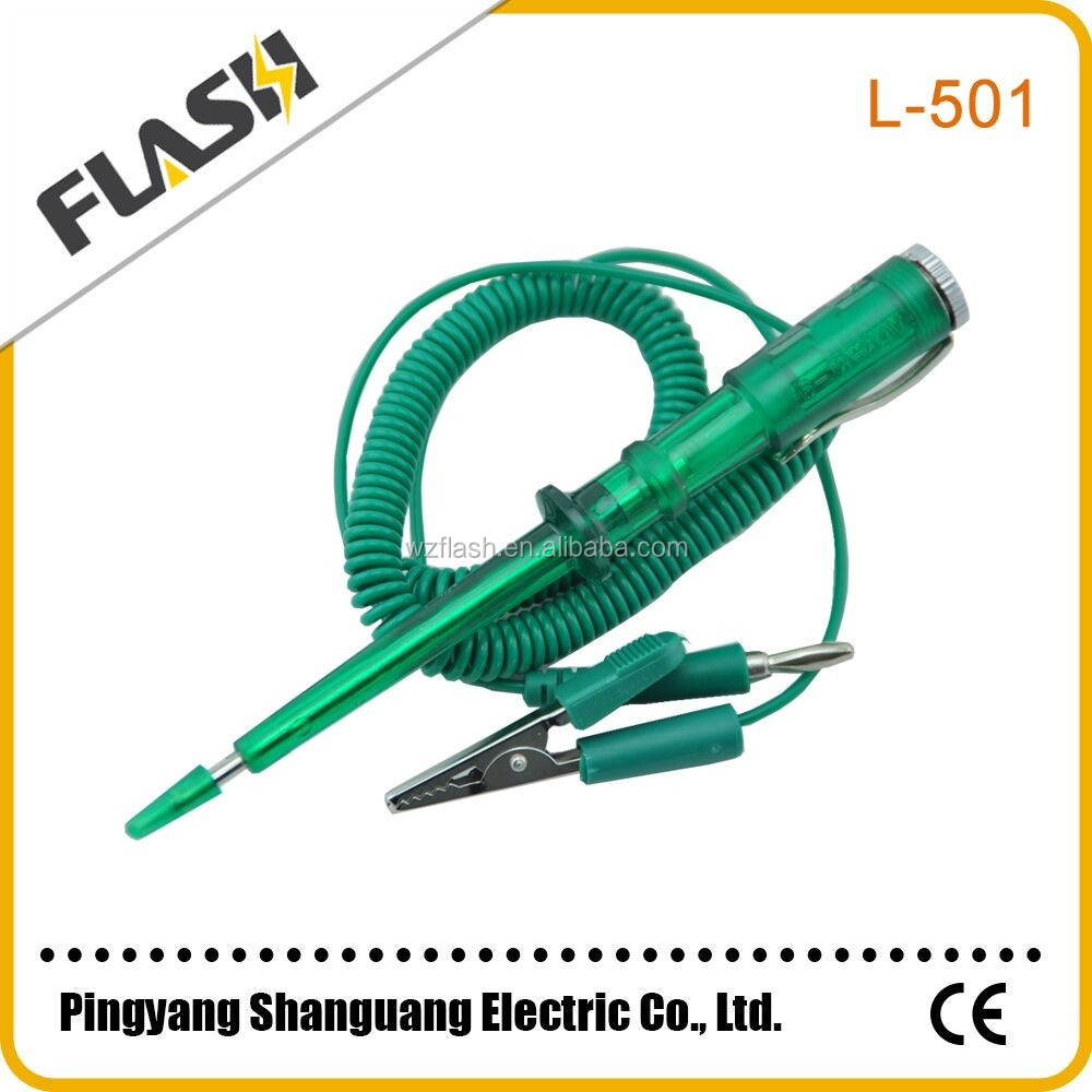 Car Test Pen Suppliers And Manufacturers At Dc 6v12v Automotive Vehicle Power Circuit Tester Indicator Light