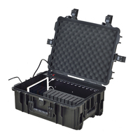 F1-14C IPAD LOCKING CHARGING SECURITY STORAGE CART - 14 SLOTS