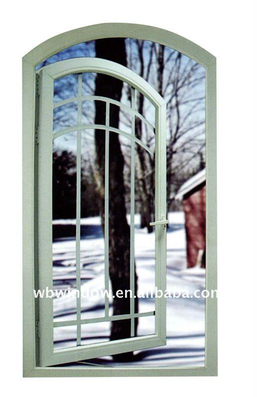 special arch upvc windows for famous design