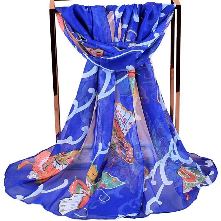 63f1a371 Venta al por mayor pañuelos de seda mariposas-Compre online los ...