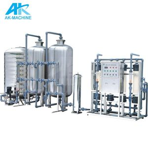 RO water plant price for 2000 liter per hour for industry