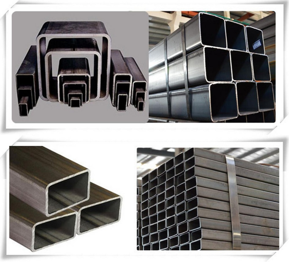 Square Hollow Section Ms Box Section Q235b Mild Steel Pipe