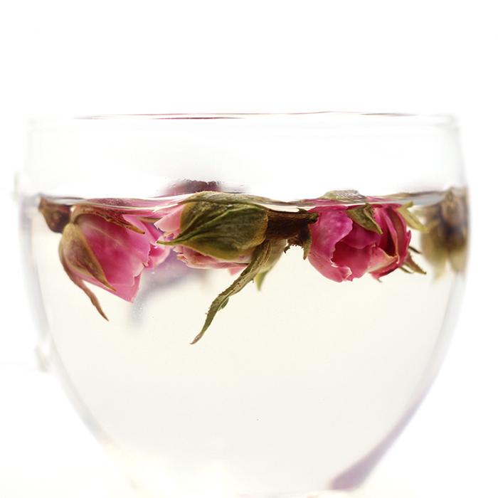 rose and hibiscus tea fresh rose bud tea - 4uTea   4uTea.com
