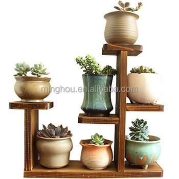 Factory Outline Wooden Tabletop Display Stand For Flower Pot Plant Displaying Storage Buy Chinese Small Wood Display Standswood Violin Standladder